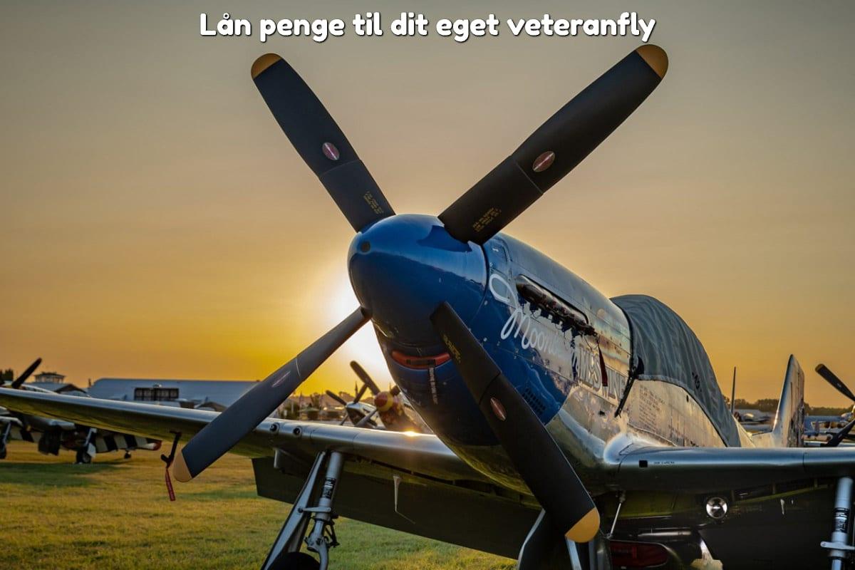 Lån penge til dit eget veteranfly